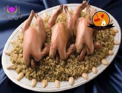 طريقة عمل الدجاج المحشى بالفريك The chicken stuffed with frik