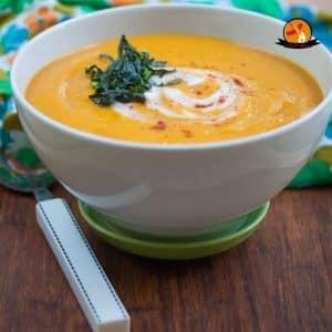 طريقة عمل شوربة الجزر بالزبادى Yogurt soup and carrots