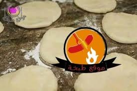 طريقة عمل العيش السورى الطري للشاورما بالصورshawarma bread1