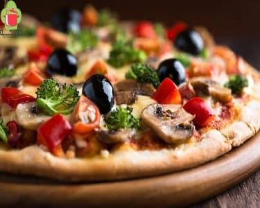 طريقة عمل البيتزا باللحمة المفرومة